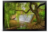 River Sid Falls                    , Framed Print