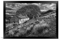 Old Farmhouse,Hope Valley                        , Framed Print