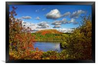 Burrator and Sheepstor In Autumn                  , Framed Print