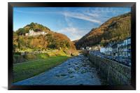 Lynmouth                      , Framed Print