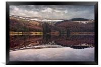 Derwent Winter Reflections                        , Framed Print