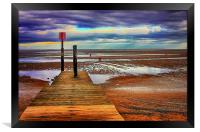 Cleethorpes Beach Lincolnshire, Framed Print