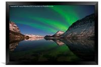 Reflections of Aurora, Framed Print