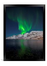 Aurora Explosion, Framed Print
