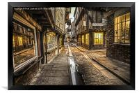 The Little Shambles York, Framed Print