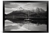 Buachaille Harbour Glen Coe, Framed Print