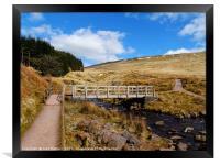 Welsh Mountains                        , Framed Print