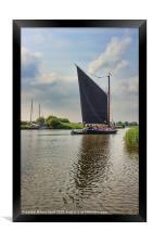 Albion on the River Thurne, Framed Print