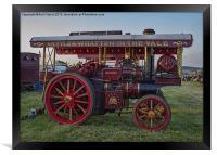 Showmans Engine, Framed Print
