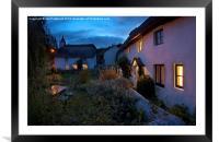 Skirr cottage, Framed Mounted Print