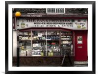 The Panky Stores, Framed Mounted Print