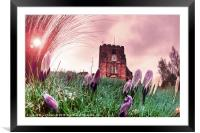 St. Mary's Church, Goudhurst, Framed Mounted Print