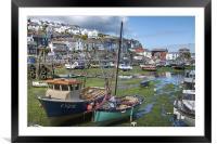 Mevagissey Harbour, Framed Mounted Print