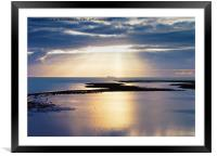 A Distant Ship, Framed Mounted Print