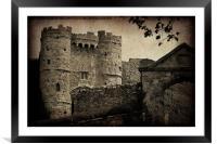 Carisbrooke Castle., Framed Mounted Print