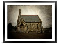 Little Chapel., Framed Mounted Print