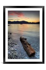 Lake Maggiore, Italy, Framed Mounted Print