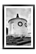 Whitby Harbour, Round House, Framed Mounted Print