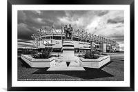 Pride Park Stadium, Framed Mounted Print