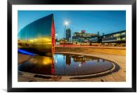 Sheffield Reflections, Framed Mounted Print