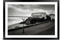 South Beach Tenby, Framed Mounted Print