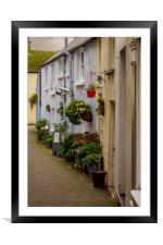 Tenby Street, Framed Mounted Print