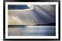 Tenby to Caldey Island, Framed Mounted Print