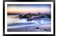 Tenby Harbour, Framed Mounted Print