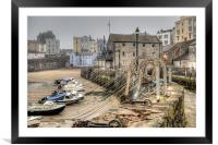 Tenby Harbour, Framed Mounted Print