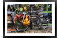 Olde Bike, Framed Mounted Print