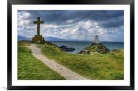 Llanddwyn Island, Framed Mounted Print