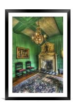 Olde Sitting Room, Framed Mounted Print