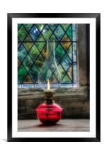 Eternal Flame, Framed Mounted Print