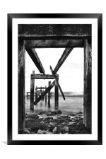 Pier Pressure, Framed Mounted Print