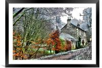 the cottage, Framed Mounted Print