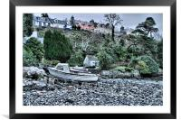Portree, Framed Mounted Print