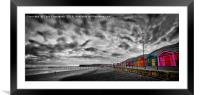 The Crown Jewels of Saltburn, Framed Mounted Print