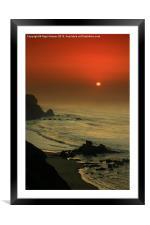 Castelejo Beach Sunset, Framed Mounted Print