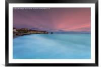 Freshwater Bay, Framed Mounted Print