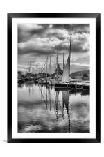 Maritime Reflections, Framed Mounted Print