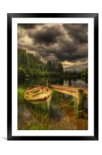 Loch Ard, Framed Mounted Print