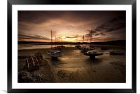 Beadnall Harbour, Framed Mounted Print