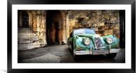 Classic Jaguar, Framed Mounted Print