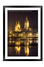 Truro Cathedral, Framed Mounted Print
