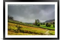 Mist in the Langdale Valley, Framed Mounted Print