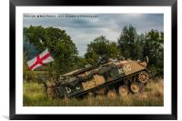 Armoured Personnel Carrier, Framed Mounted Print