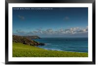 Caerhays, Cornwall, Framed Mounted Print