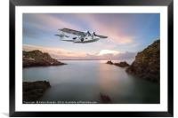 catalina flying boat, Framed Mounted Print
