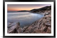 Andros island, Greece, Framed Mounted Print