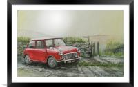 Ive been told its just a matter of time, Framed Mounted Print